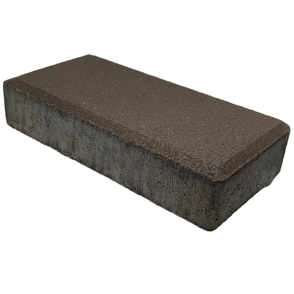 тротуарная плитка кирпичик коричневый Харьков